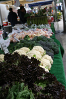 Vegetables at Central Farmers Market