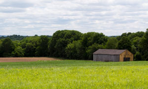 Connecticut Valley farm and barn