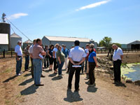 A field tour of conservation practices on Schroer Farm in Patriot, <b>Retin-A without prescription</b>, <b>Retin-A no rx</b>, Ind., showed possible credit-generation practices in action.