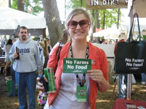 No Farms No Food at Farm Aid