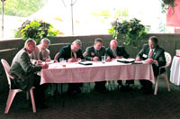 Representatives from Kentucky, Indiana and Ohio sign the Ohio River Basin Water Quality Trading Plan