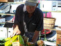 Vendor at Perrysville Farmers Market